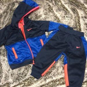 "Nike toddler ""dri-fit"" toddler track suit"